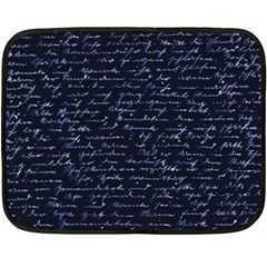 Handwriting Double Sided Fleece Blanket (mini)