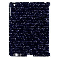 Handwriting Apple Ipad 3/4 Hardshell Case (compatible With Smart Cover) by Valentinaart