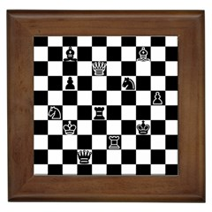 Chess Framed Tiles by Valentinaart
