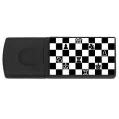 Chess Usb Flash Drive Rectangular (4 Gb) by Valentinaart