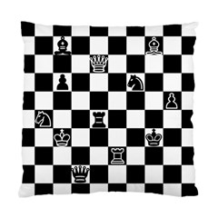 Chess Standard Cushion Case (one Side) by Valentinaart