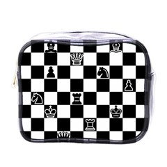 Chess Mini Toiletries Bags by Valentinaart
