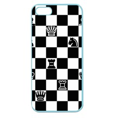 Chess Apple Seamless Iphone 5 Case (color)