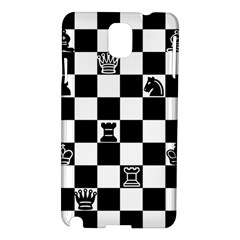 Chess Samsung Galaxy Note 3 N9005 Hardshell Case by Valentinaart