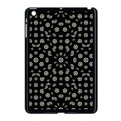 Dark Ditsy Floral Pattern Apple Ipad Mini Case (black) by dflcprints
