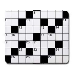 Crosswords  Large Mousepads by Valentinaart