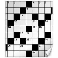 Crosswords  Canvas 8  X 10  by Valentinaart