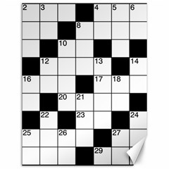 Crosswords  Canvas 12  X 16   by Valentinaart