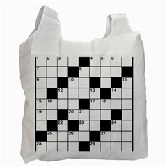 Crosswords  Recycle Bag (two Side)