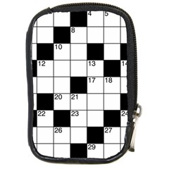 Crosswords  Compact Camera Cases by Valentinaart