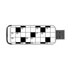 Crosswords  Portable Usb Flash (two Sides) by Valentinaart