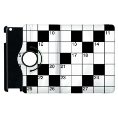Crosswords  Apple Ipad 2 Flip 360 Case by Valentinaart