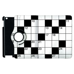 Crosswords  Apple Ipad 3/4 Flip 360 Case by Valentinaart