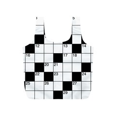 Crosswords  Full Print Recycle Bags (s)  by Valentinaart
