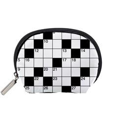 Crosswords  Accessory Pouches (small)  by Valentinaart