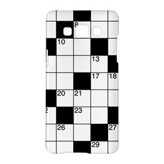 Crosswords  Samsung Galaxy A5 Hardshell Case  by Valentinaart
