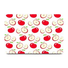 Apple Pattern Plate Mats by Valentinaart