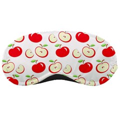 Apple Pattern Sleeping Masks by Valentinaart