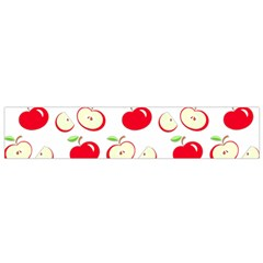 Apple Pattern Flano Scarf (small) by Valentinaart