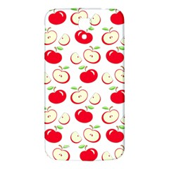 Apple Pattern Samsung Galaxy Mega I9200 Hardshell Back Case by Valentinaart