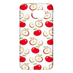 Apple Pattern Galaxy S6 by Valentinaart