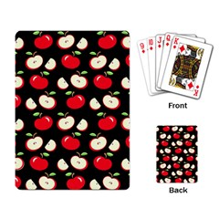 Apple Pattern Playing Card by Valentinaart