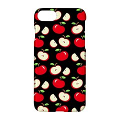 Apple Pattern Apple Iphone 7 Hardshell Case by Valentinaart