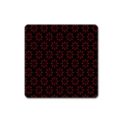 Pattern Square Magnet