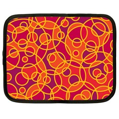 Pattern Netbook Case (xxl)  by Valentinaart