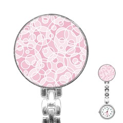 Pattern Stainless Steel Nurses Watch by Valentinaart