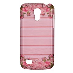 Pink Peony Outline Romantic Galaxy S4 Mini by Simbadda