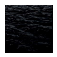 Dark Lake Ocean Pattern River Sea Tile Coasters