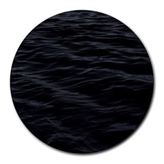 Dark Lake Ocean Pattern River Sea Round Mousepads