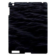 Dark Lake Ocean Pattern River Sea Apple Ipad 3/4 Hardshell Case by Simbadda