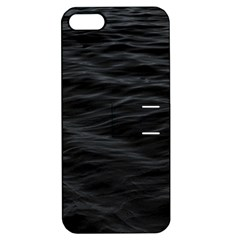 Dark Lake Ocean Pattern River Sea Apple Iphone 5 Hardshell Case With Stand by Simbadda