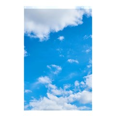 Sky Blue Clouds Nature Amazing Shower Curtain 48  X 72  (small)  by Simbadda
