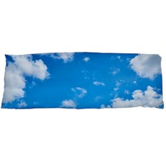 Sky Blue Clouds Nature Amazing Body Pillow Case (dakimakura) by Simbadda