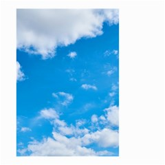 Sky Blue Clouds Nature Amazing Small Garden Flag (two Sides)