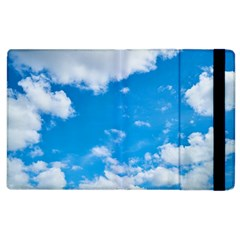 Sky Blue Clouds Nature Amazing Apple Ipad 3/4 Flip Case by Simbadda