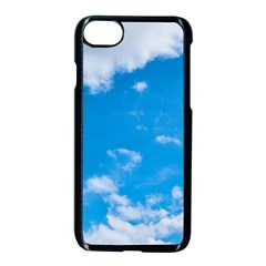 Sky Blue Clouds Nature Amazing Apple Iphone 7 Seamless Case (black) by Simbadda