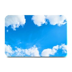 Sky Clouds Blue White Weather Air Plate Mats