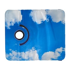 Sky Clouds Blue White Weather Air Galaxy S3 (flip/folio) by Simbadda