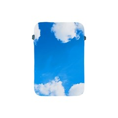 Sky Clouds Blue White Weather Air Apple Ipad Mini Protective Soft Cases by Simbadda