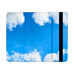 Sky Clouds Blue White Weather Air Samsung Galaxy Tab Pro 8 4  Flip Case