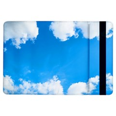 Sky Clouds Blue White Weather Air Ipad Air Flip by Simbadda