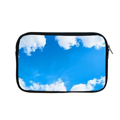 Sky Clouds Blue White Weather Air Apple Macbook Pro 13  Zipper Case by Simbadda