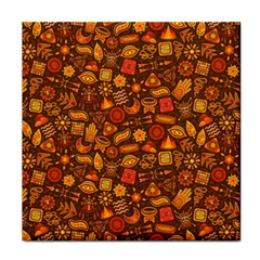 Pattern Background Ethnic Tribal Tile Coasters by Simbadda