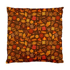 Pattern Background Ethnic Tribal Standard Cushion Case (one Side) by Simbadda