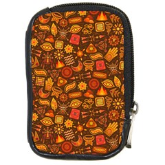 Pattern Background Ethnic Tribal Compact Camera Cases by Simbadda