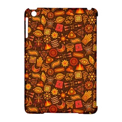 Pattern Background Ethnic Tribal Apple Ipad Mini Hardshell Case (compatible With Smart Cover) by Simbadda